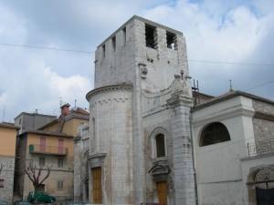 """La facciata """"absidale"""" del Duomo"""