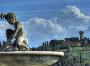 Fontana con Putto