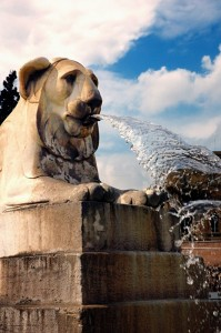 Fontana con obelisco (Piazza del Popolo)