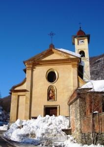San Giovanni Battista d'inverno a Moiola