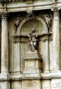 particolare di Santa Maria di Nazareth