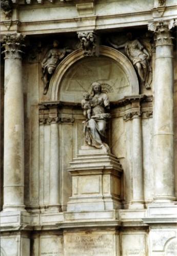 Venezia - particolare di Santa Maria di Nazareth
