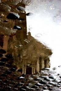 Riflessi nella pioggia….