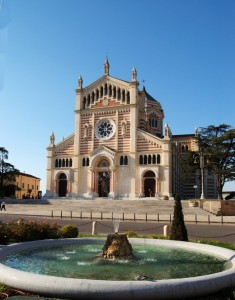 Longo, fontana davanti al Duomo