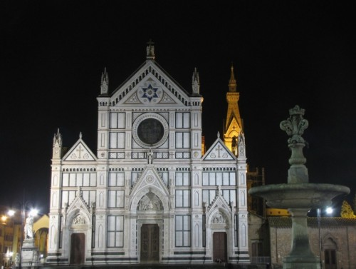 Firenze - SANTA CROCE DI NOTTE