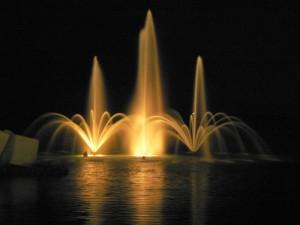 Fontana sul lungo mare di Salerno