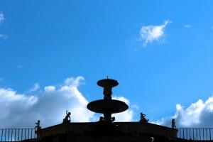 Fontana zona palazzo Pitti