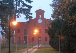 La chiesa di Colle Ameno