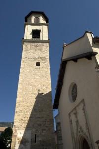 Tuenno, S. Orsola, il campanile
