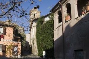 La chiesa di Sant'Angelo a Formello