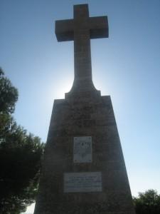 Croce sull' Adriatico e lo Ionio