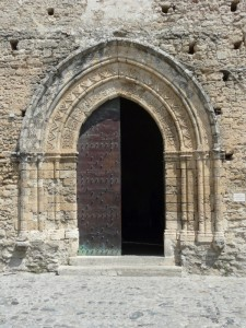 San Francesco - Il portale