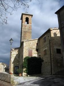Chiesa di San Pietro, frazione di Arcevia