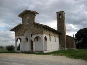 Ex chiesa di S.Maria delle Quercie, frazione Ripalta di Arcevia