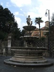 Fontana con Nettuno