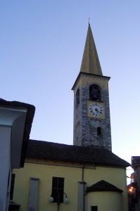 """""""al campanin"""" e la chiesa di casale"""