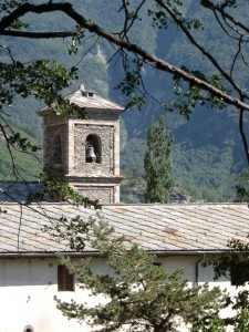 Il campanile dell' Abbazia