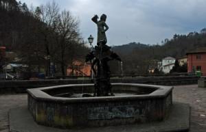 La fontana del bivio