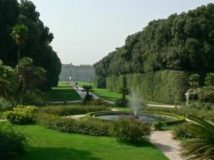 Fontana nel parco della Reggia di Caserta