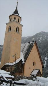 La vecchia chiesa di Pera