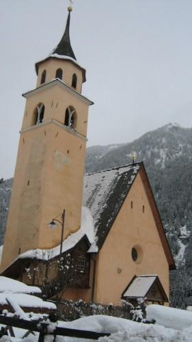 Pozza di Fassa - La vecchia chiesa di Pera