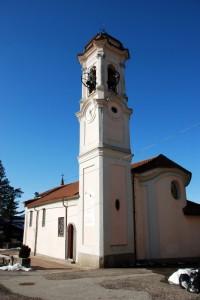 Chiesa di S.Cristoforo a Ghirla -vista dietro-