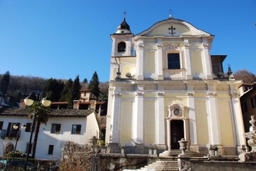 Valganna - Chiesa di S.Sebastiano nel paese di Marzio
