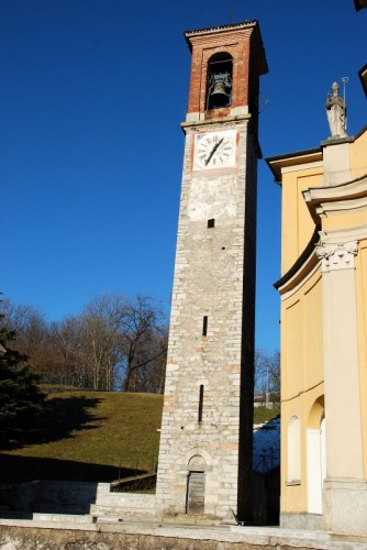 Cunardo - Campanile Chiesa Parrocchiale di S.Abbondio