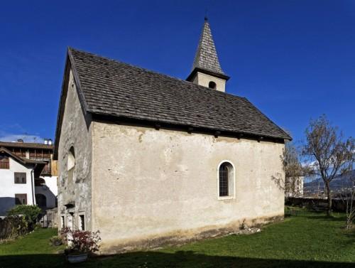 Cles - Antica chiesetta di san Vigilio