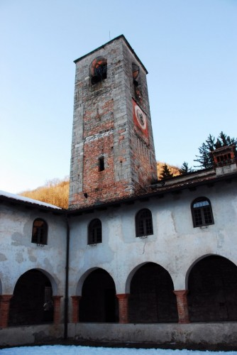 Valganna - Campanile Badia di Ganna a San.Gemolo