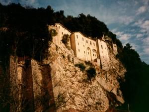 Nella Roccia  Monastero di  Greccio
