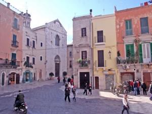 Chiesa di San Giacomo nella città vecchia di Bari
