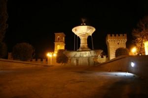 Vitorchiano- fontana all'ingresso del paese