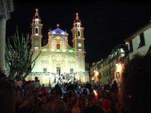 Basilica di S. Stefano, notturna 2