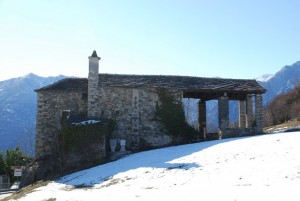 chiesa Saint Prejet in frazione Targnod