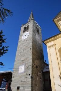 Campanile con meridiana  di San Maurizio