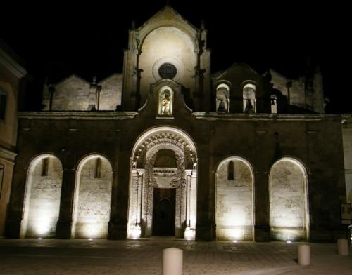 Matera - Il fascino notturno di S. Giovanni Battista