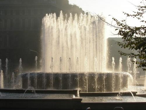 Milano - piazza Castello