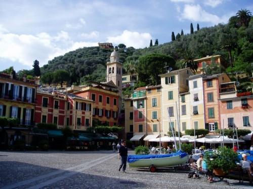 Portofino - San Martino nella piazzetta di Portofino