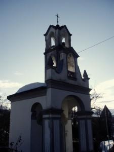 Cappella votiva al tramonto