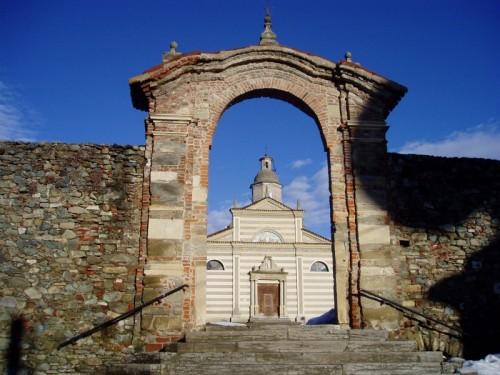 Spigno Monferrato - Sant'Ambrogio e l'arco