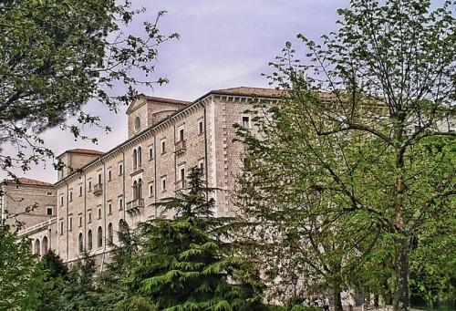 Cassino - Piccolo scorcio dell'Abbazia