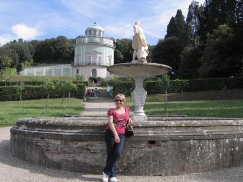 Firenze - Una turista improvvisata modella...
