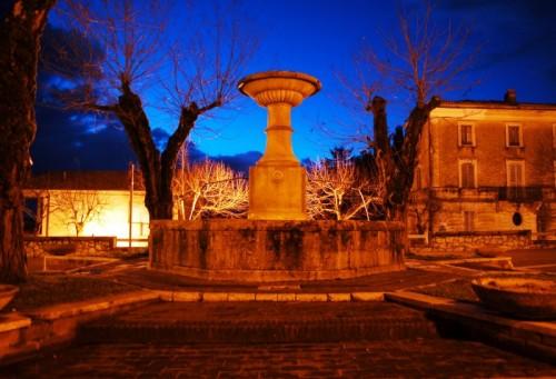 Rocca Sinibalda - Fontana a Rocca Sinibalda