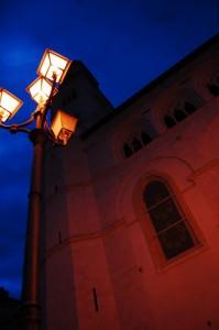 luci sulla cattedrale