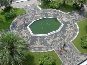 Il giardino di Palazzo Reale