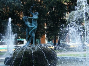Fontana in Piazza della Libertà