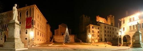 Feltre - Feltre Fontane Lombardesche e chiesa ss Rocco e Sebastiano