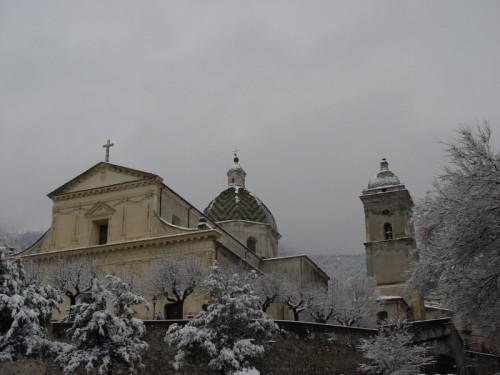 Morano Calabro - La Chiesa della S. M. Maddalena sotto la neve