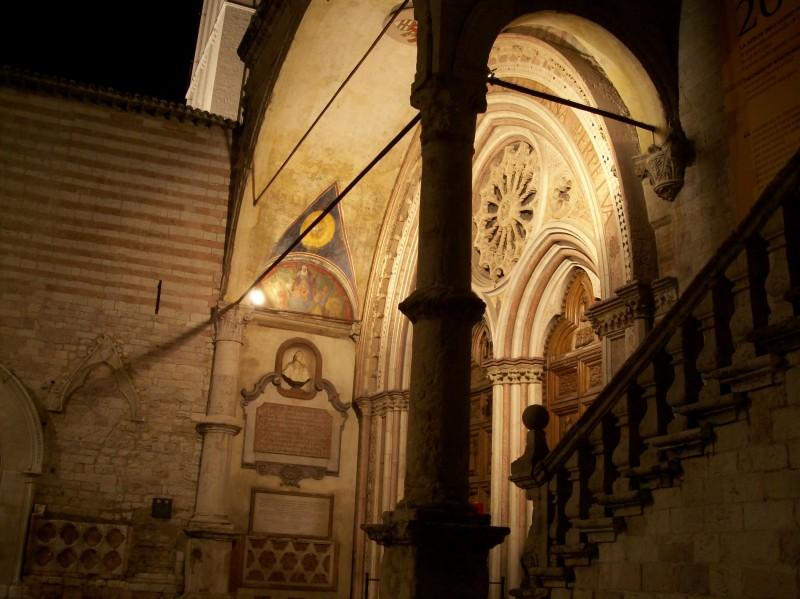 ''san francesco in notturna'' - Assisi